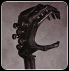 Gigerstein Six-Fingered Alien Headstock
