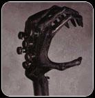 Gigerstein Six-Fingered Alien Headstock