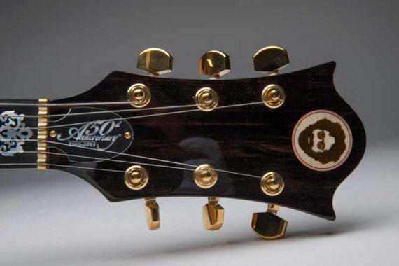 50th Anniversay Grateful Dead Guitar Headstock