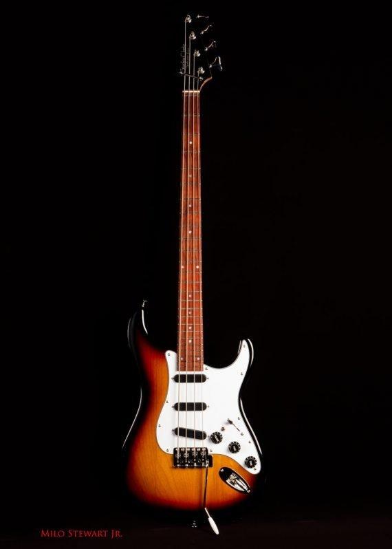 full length front of the spellcaster bass